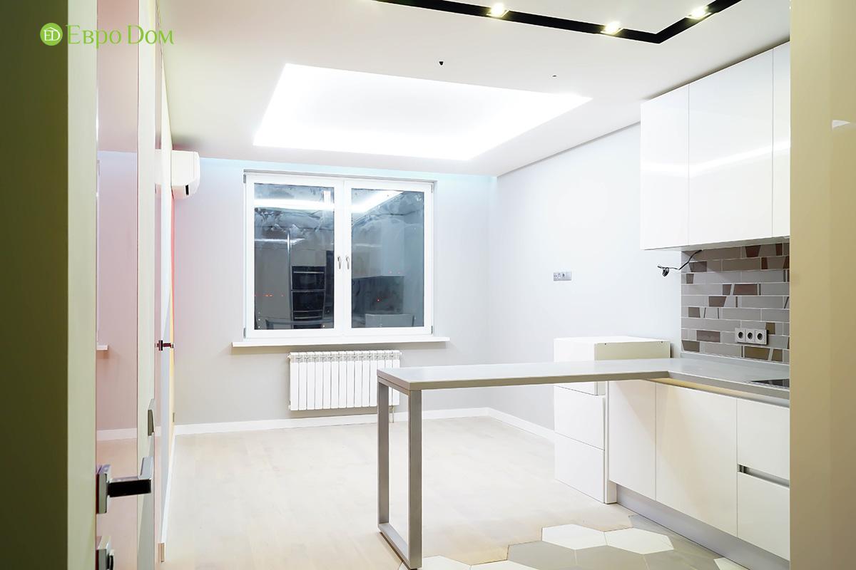 Ремонт однокомнатной квартиры 50 кв. м в современном стиле. Фото 05