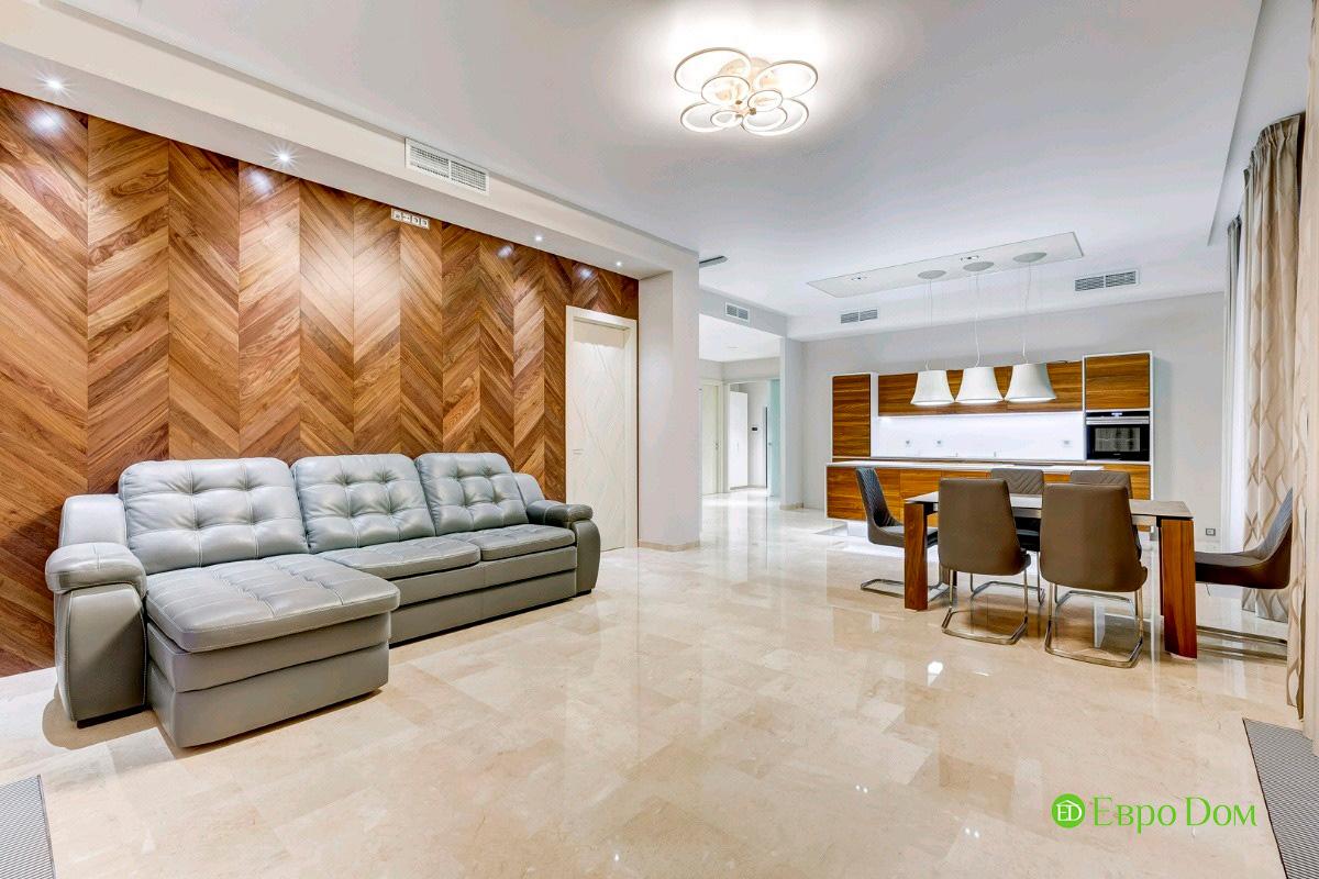 Ремонт трёхкомнатной квартиры 160 кв. м в современном стиле. Фото 08