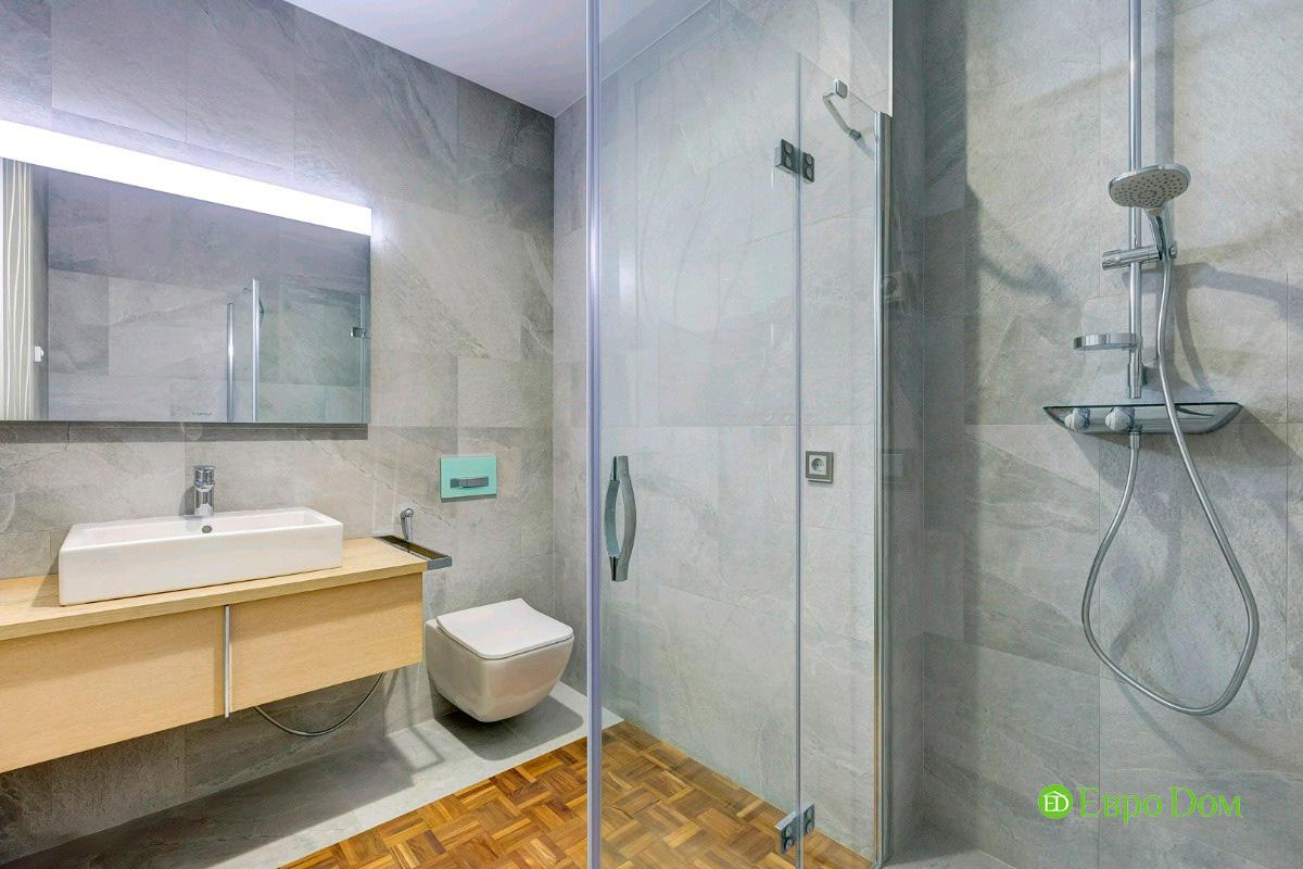 Ремонт трёхкомнатной квартиры 160 кв. м в современном стиле. Фото 09