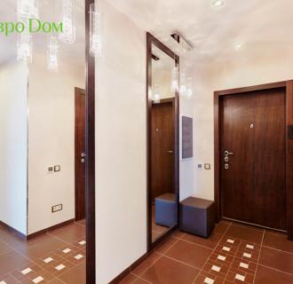 Ремонт трехкомнатной квартиры 103 кв. м в современном стиле. Фото проекта
