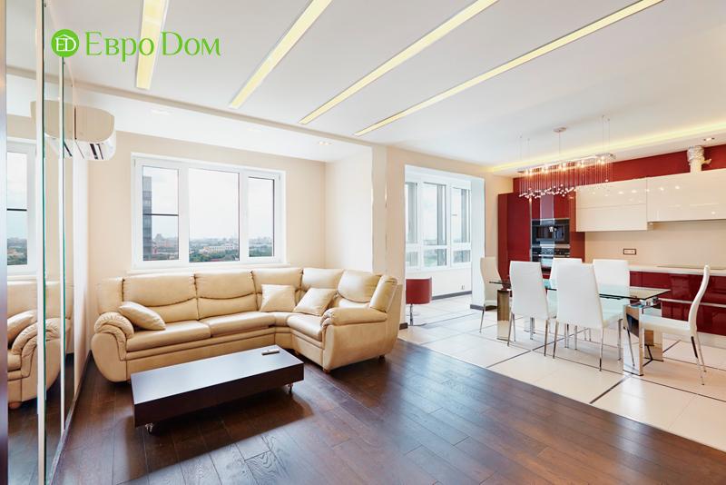 Ремонт и отделка 4-комнатной квартиры в современном стиле. Фото 05