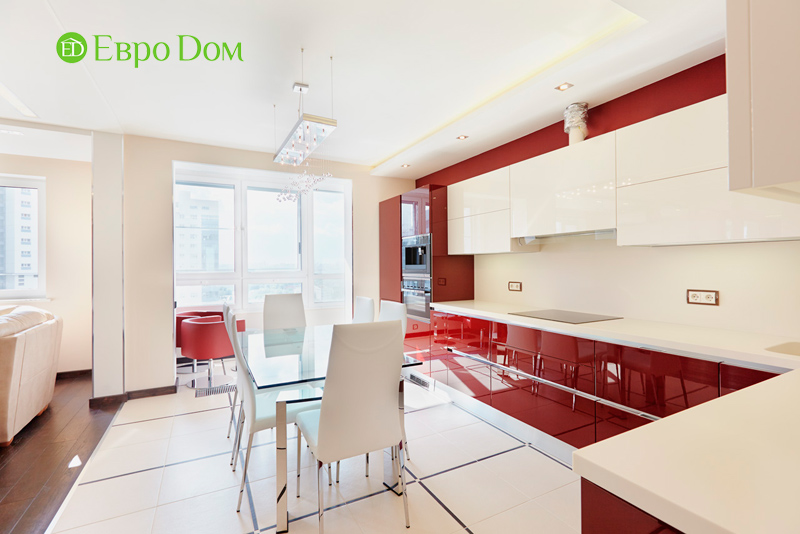 Ремонт и отделка 4-комнатной квартиры в современном стиле. Фото 07