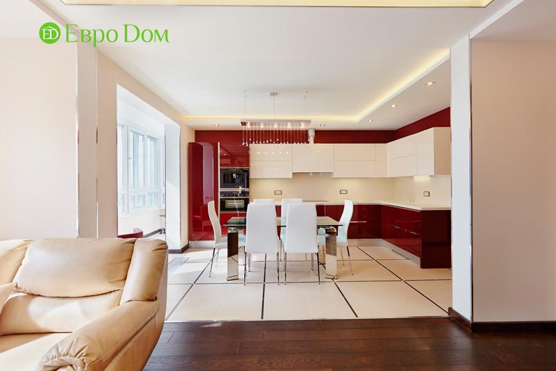 Ремонт и отделка 4-комнатной квартиры в современном стиле. Фото 016