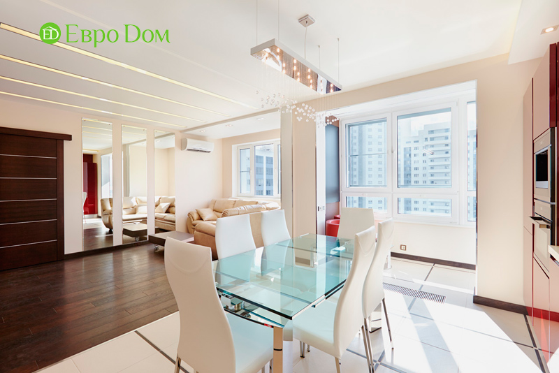 Ремонт и отделка 4-комнатной квартиры в современном стиле. Фото 017