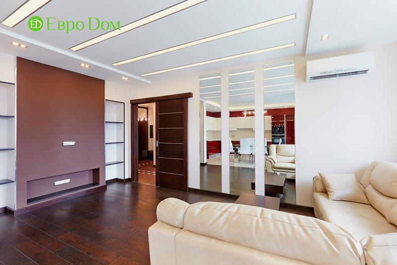 Ремонт и отделка 4-комнатной квартиры в современном стиле. Фото 021