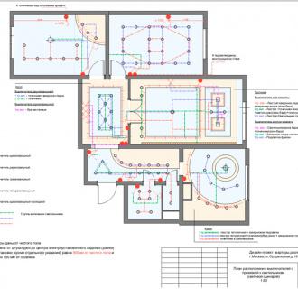 Дизайн трехкомнатной квартиры 76 кв. м в современном стиле. Фото проекта