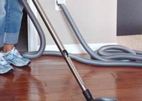 Уборка при помощи центрального пылесоса