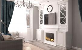 Дизайн интерьера 1-комнатной квартиры 44 кв.м. по адресу г. Звенигород, ул. Садовая, д. 6, ЖК «Заречье». Фото 1
