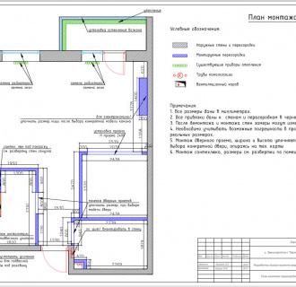 Дизайн интерьера однокомнатной квартиры 44 кв. м в стиле неоклассика. Фото проекта