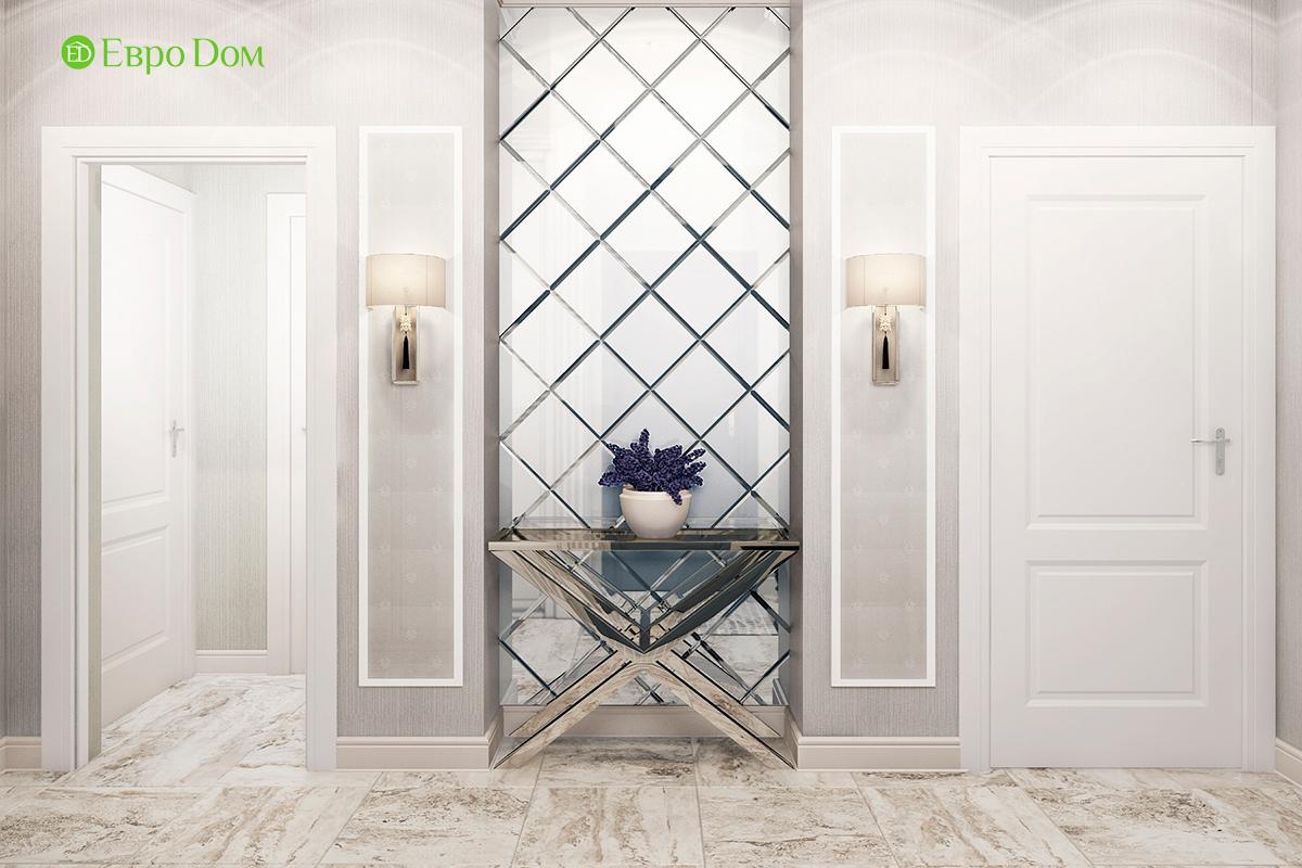 Дизайн 3-комнатной квартиры в стиле ар-деко. Фото интерьера 06