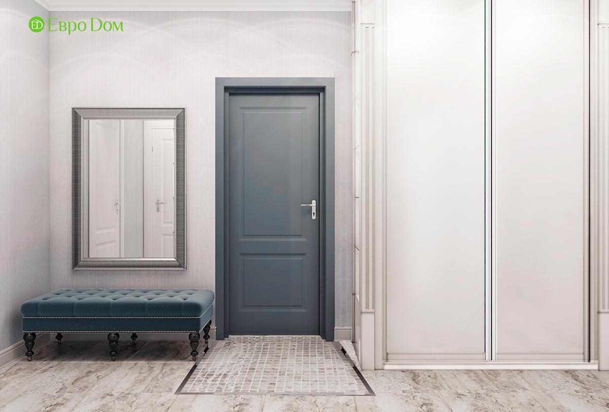 Дизайн 3-комнатной квартиры в стиле ар-деко. Фото интерьера 08