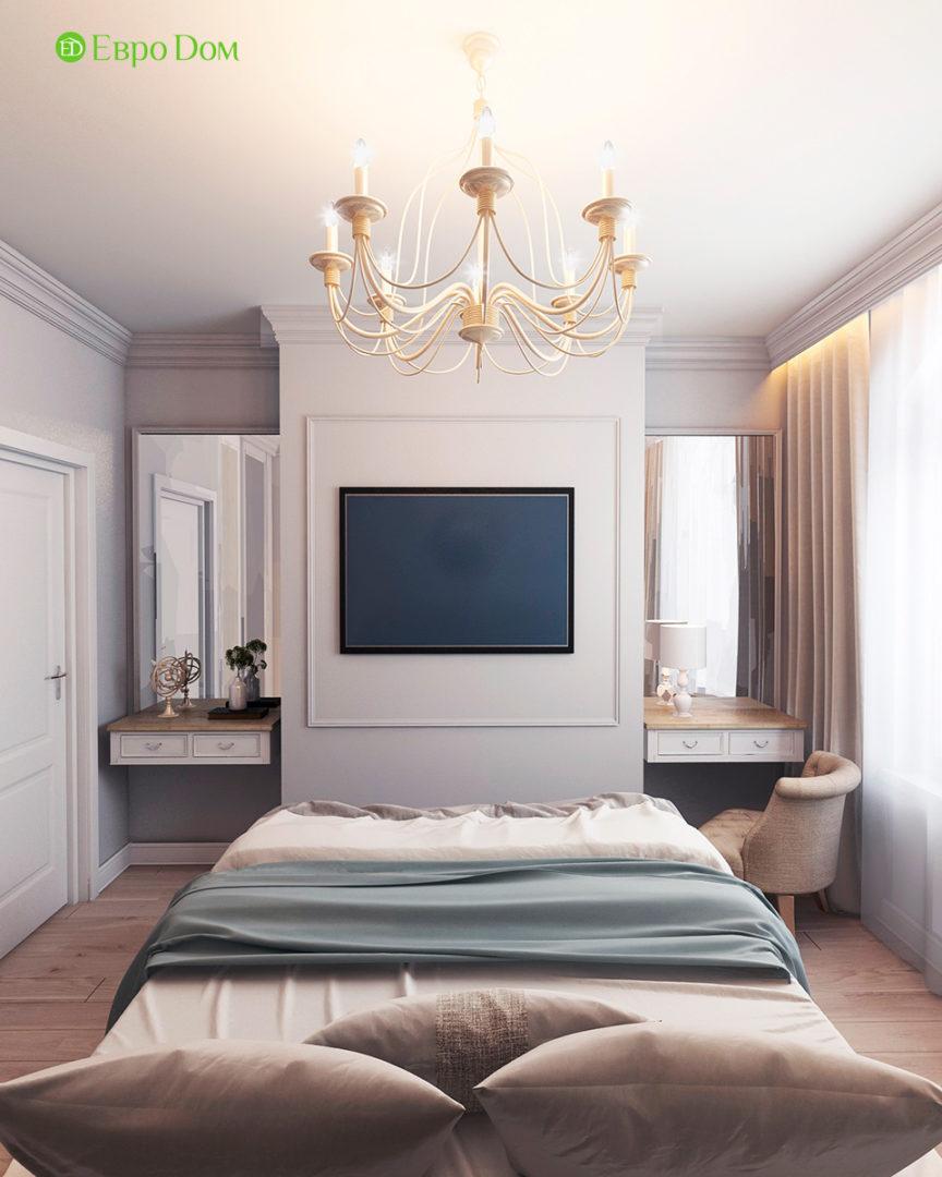 Дизайн 3-комнатной квартиры в стиле ар-деко. Фото интерьера 09