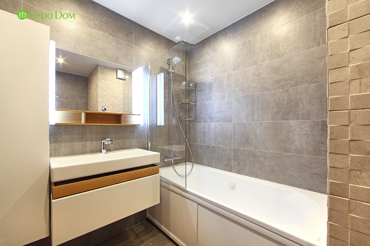 Ремонт и отделка 4-комнатной квартиры 109 кв. м.  Интерьер в современном стиле. Фото 04