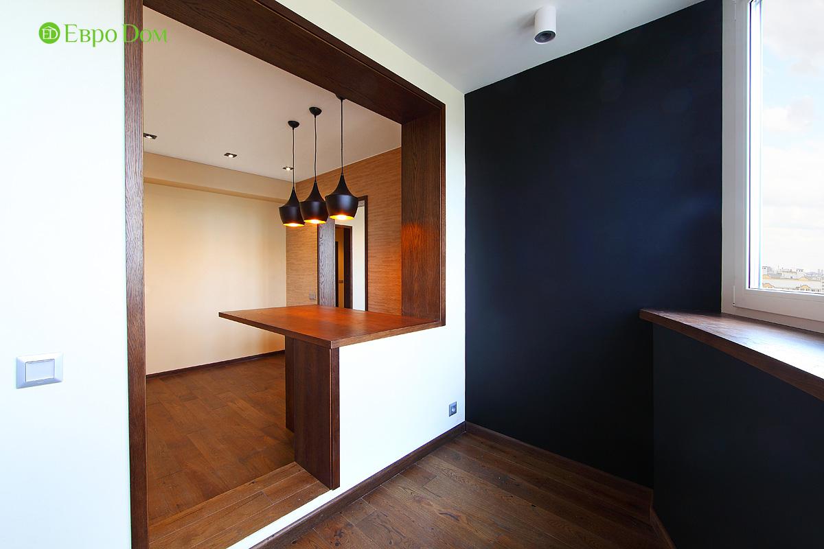 Ремонт и отделка 4-комнатной квартиры 109 кв. м.  Интерьер в современном стиле. Фото 029