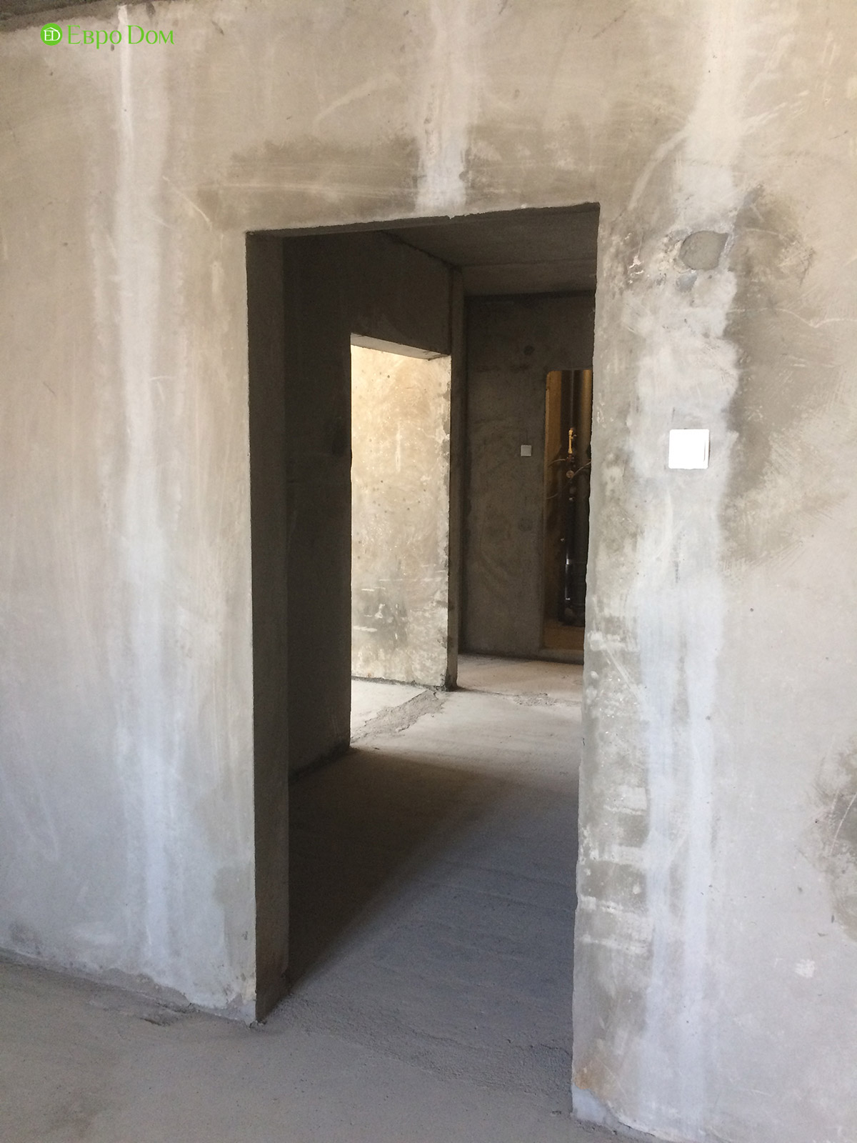 Ремонт и отделка 4-комнатной квартиры 109 кв. м.  Интерьер в современном стиле. Фото 016