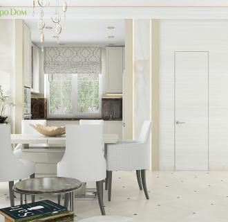 Дизайн интерьера коттеджа 103 кв. м в современном стиле. Фото проекта