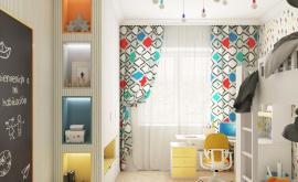 Дизайн интерьера четырехкомнатной квартиры 123 кв.м. по адресу г. Москва, ул. Зоологическая, д. 30, к. 2. Фото 4