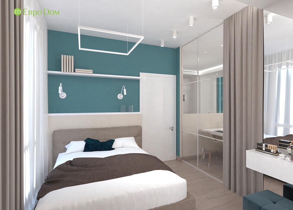 Дизайн 3-комнатной квартиры 61 кв. м в современном стиле. Фото интерьера 05