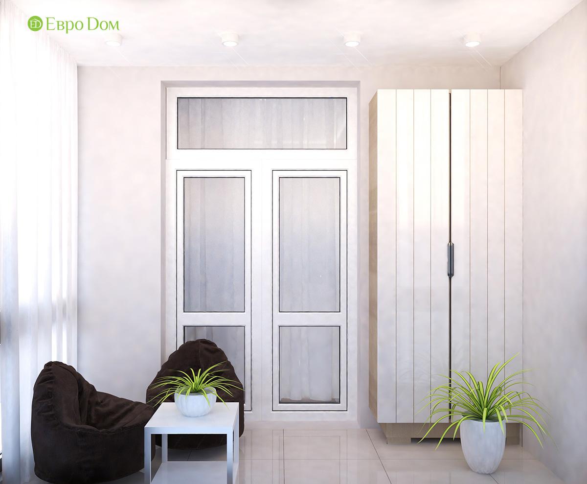 Дизайн 3-комнатной квартиры 61 кв. м в современном стиле. Фото интерьера 08