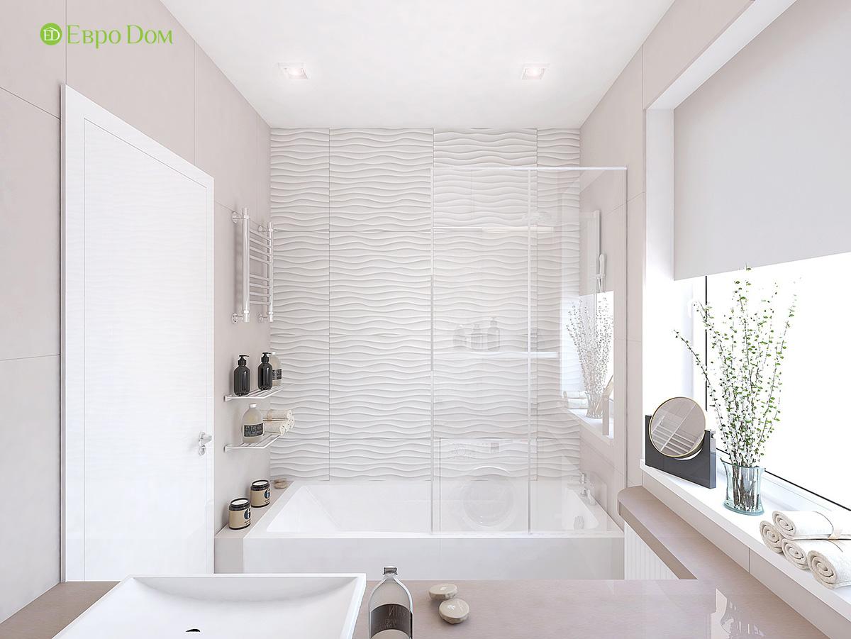Дизайн 3-комнатной квартиры 61 кв. м в современном стиле. Фото интерьера 010