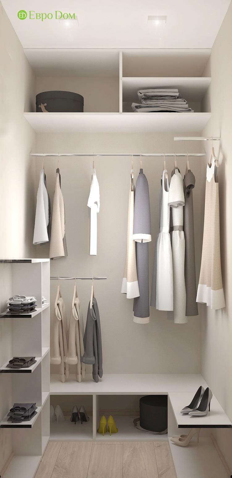 Дизайн 3-комнатной квартиры 61 кв. м в современном стиле. Фото интерьера 011