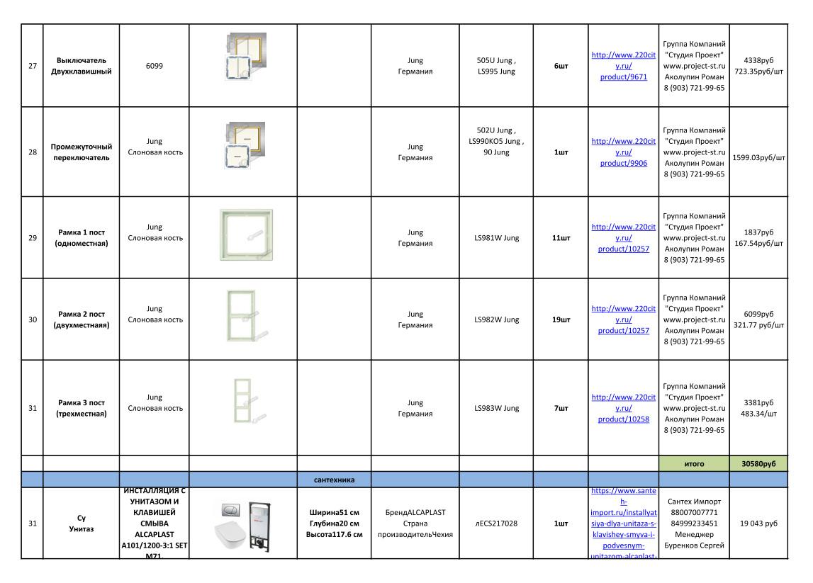 Дизайн 3-комнатной квартиры 61 кв. м в современном стиле. Фото интерьера 042