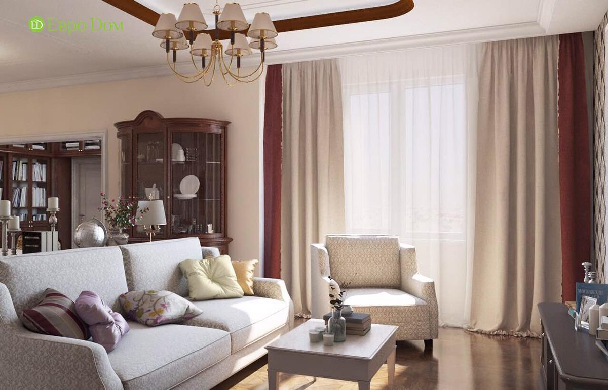 Дизайн квартиры в английском стиле. Фото 02