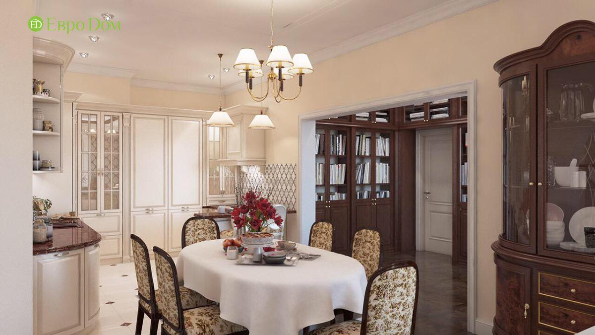 Дизайн квартиры в английском стиле. Фото 03