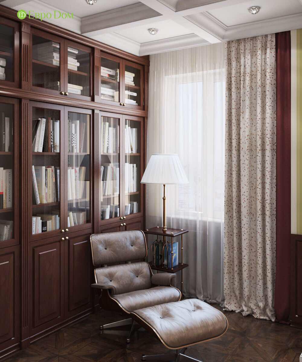 Дизайн квартиры в английском стиле. Фото 09
