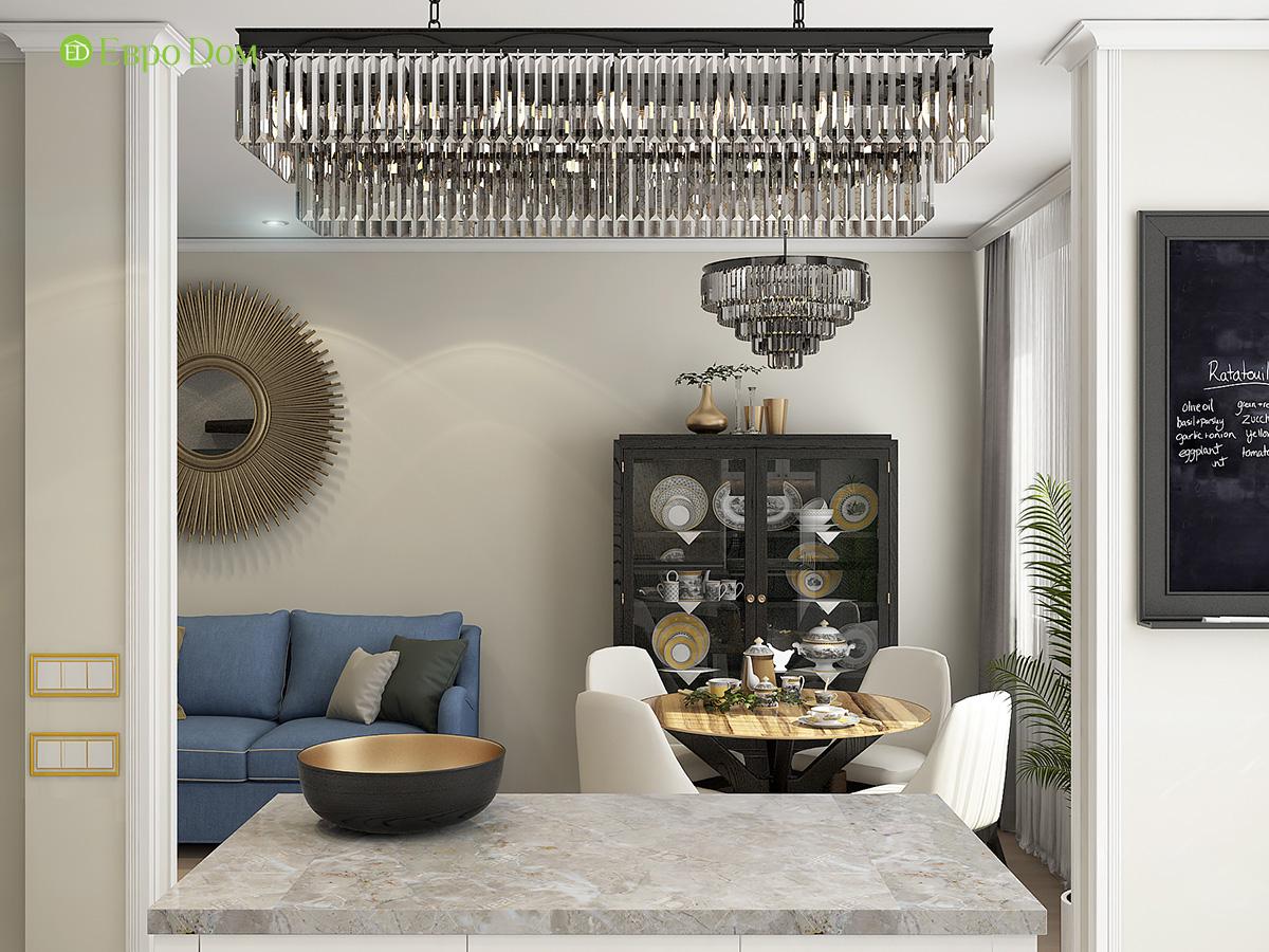 Дизайн квартиры стиле арт-деко. Фото 05