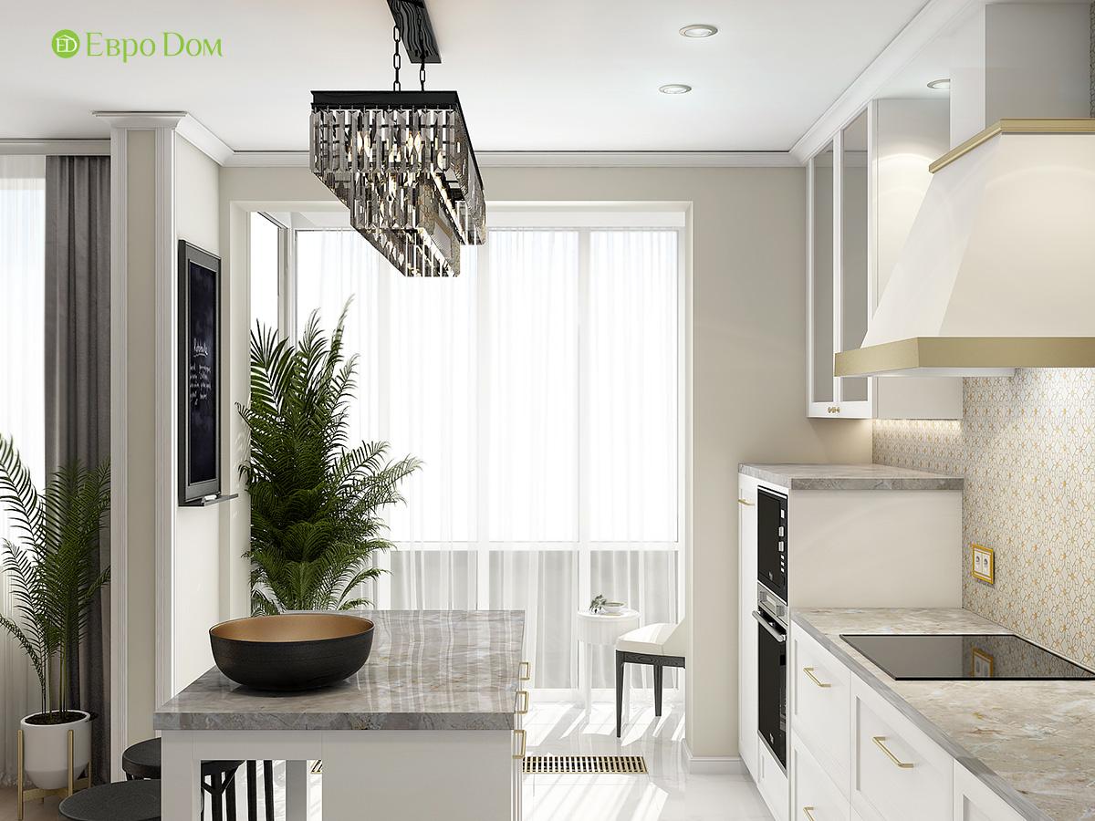 Дизайн квартиры стиле арт-деко. Фото 06