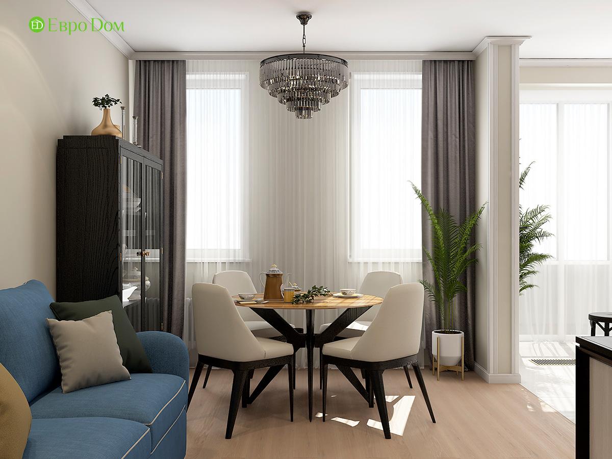 Дизайн квартиры стиле арт-деко. Фото 07