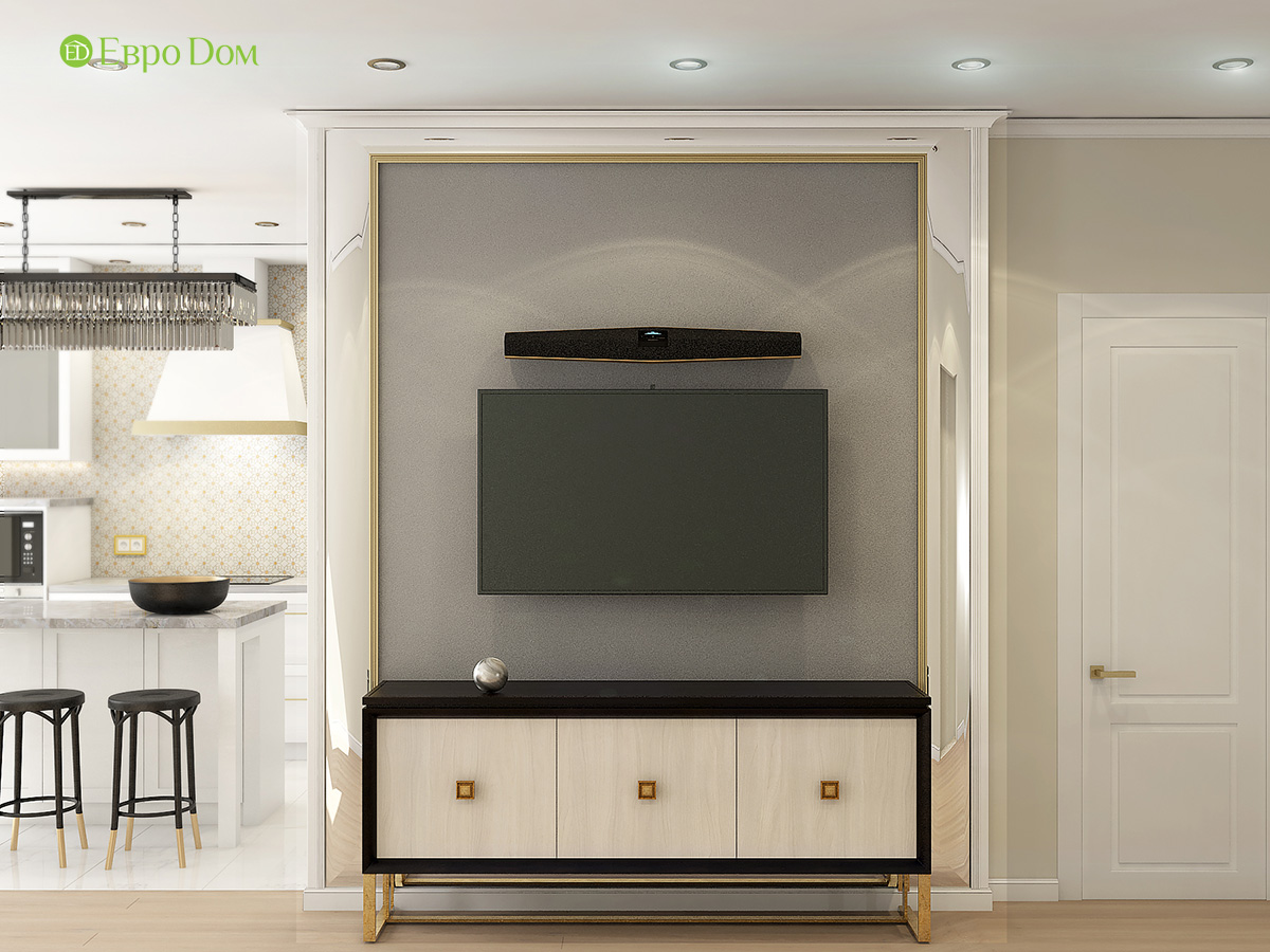 Дизайн квартиры стиле арт-деко. Фото 09