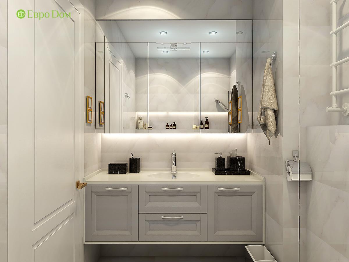 Дизайн квартиры стиле арт-деко. Фото 018