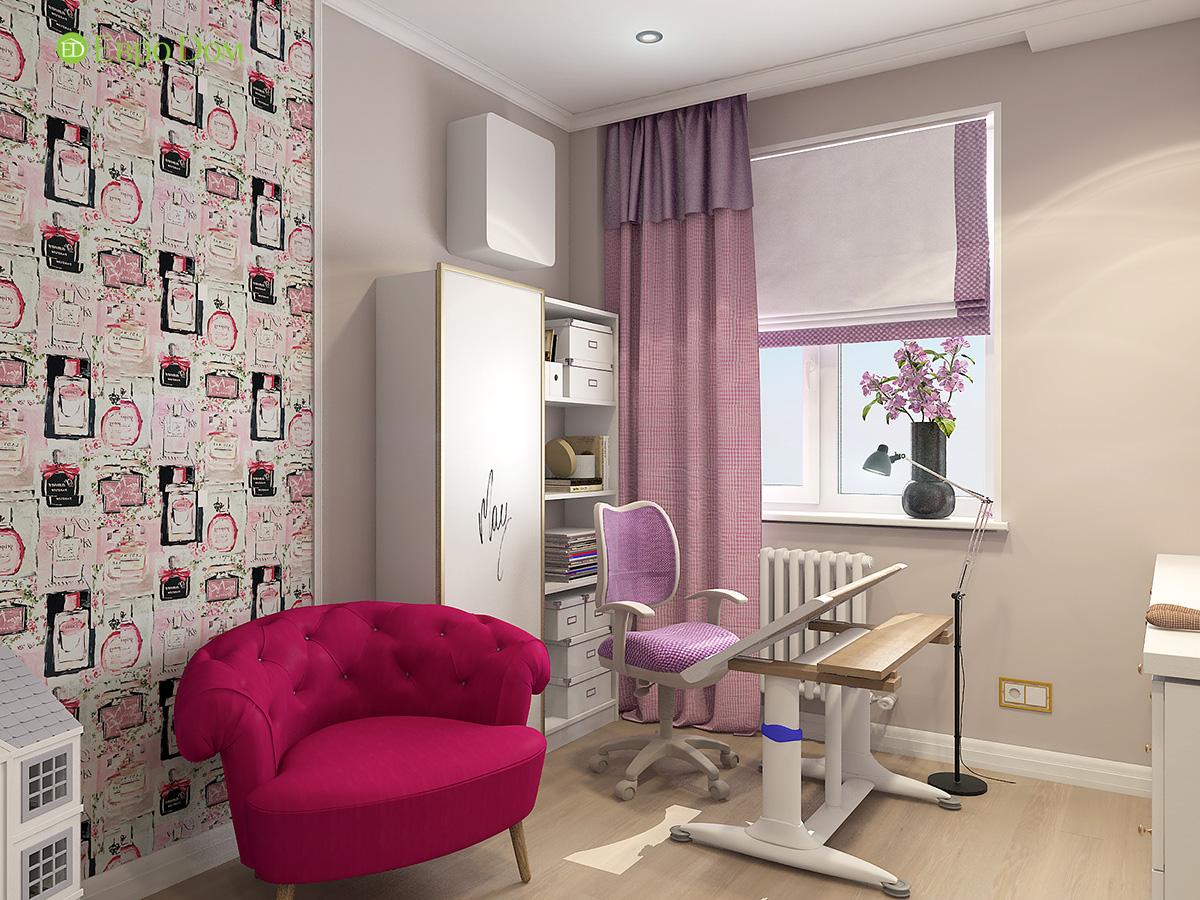 Дизайн квартиры стиле арт-деко. Фото 022