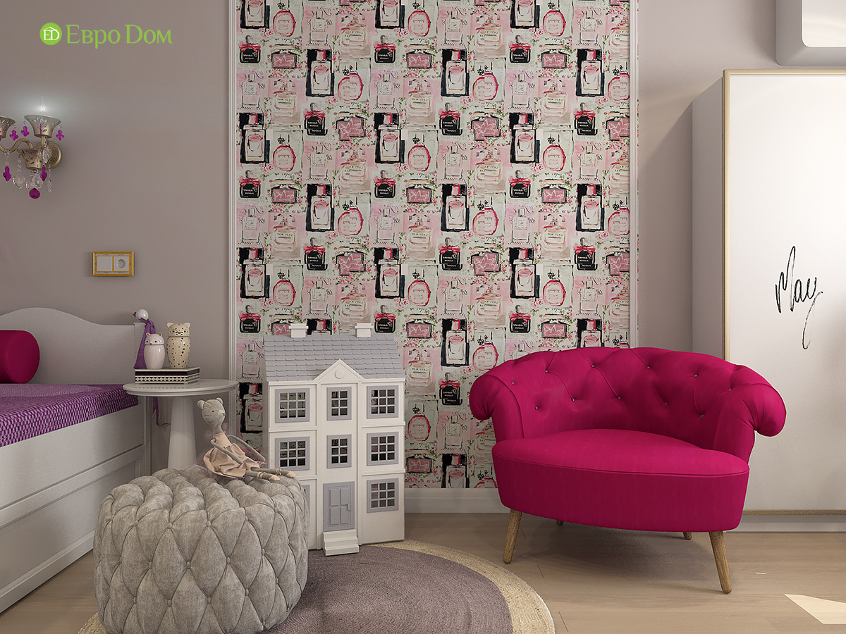 Дизайн квартиры стиле арт-деко. Фото 027