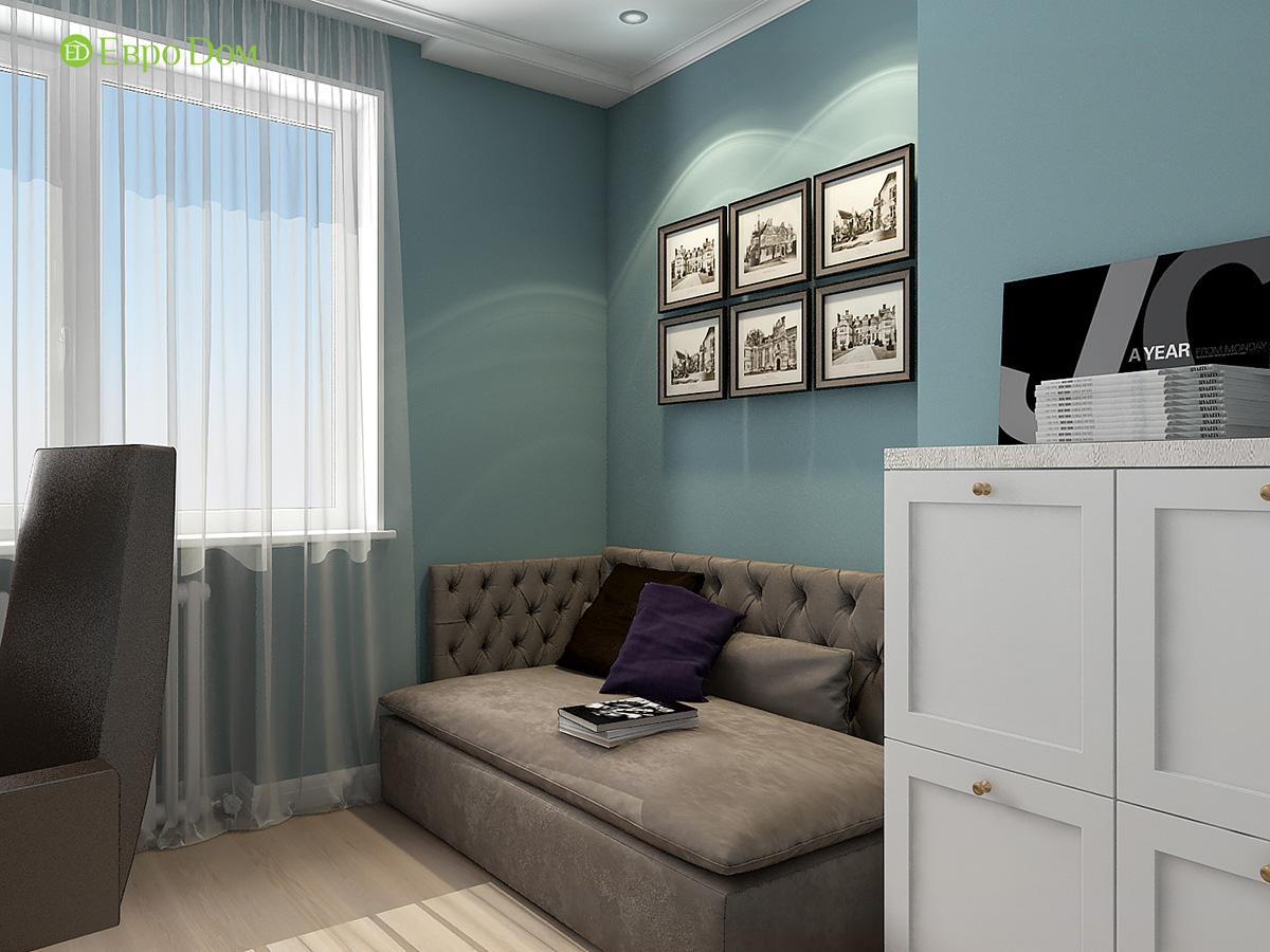 Дизайн квартиры стиле арт-деко. Фото 030