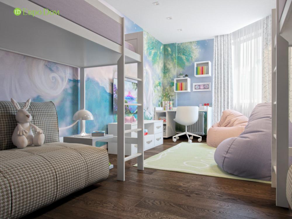 Дизайн проект квартиры в современном стиле. Фото 06