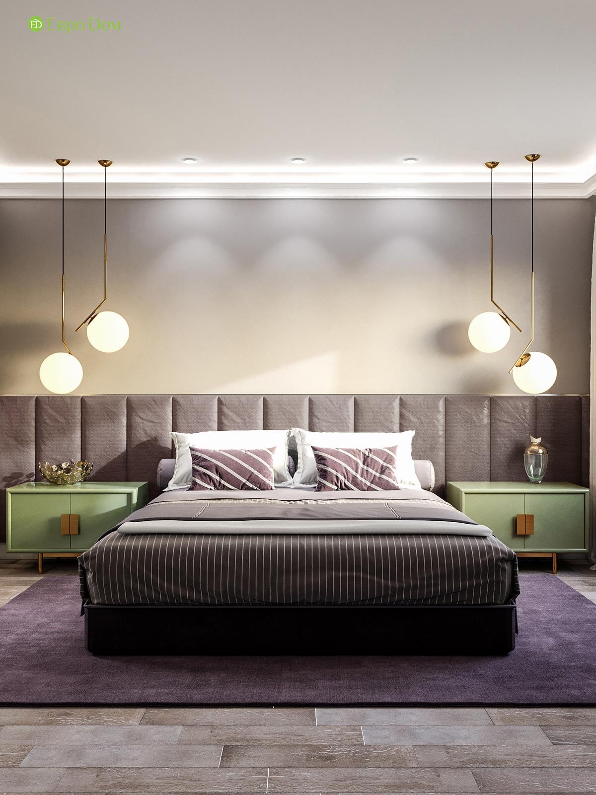 Дизайн двухкомнатной квартиры 60 кв. м в современном стиле. Фото 09