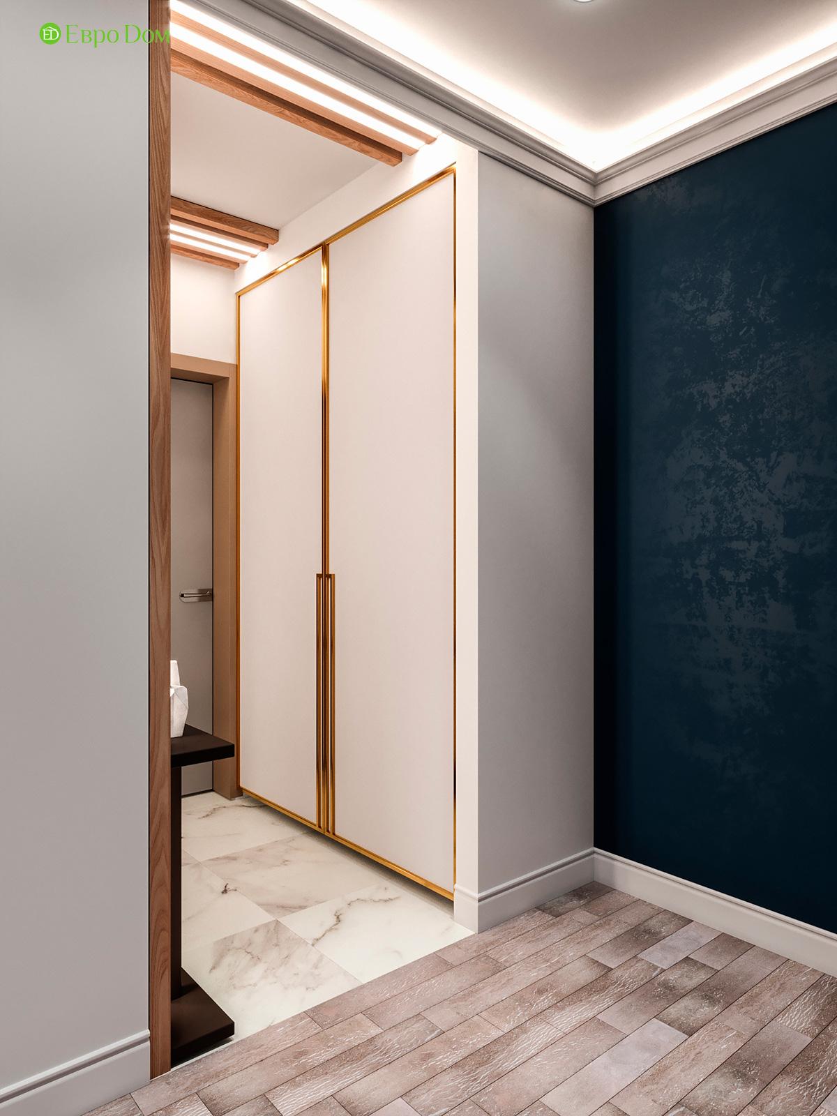 Дизайн двухкомнатной квартиры 60 кв. м в современном стиле. Фото 020