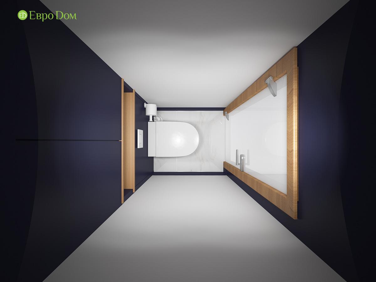 Дизайн двухкомнатной квартиры 60 кв. м в современном стиле. Фото 026