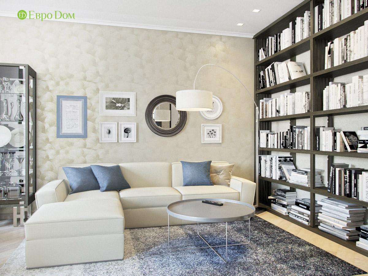 Дизайн трехкомнатной квартиры 95 кв. м в современном стиле. Фото 02