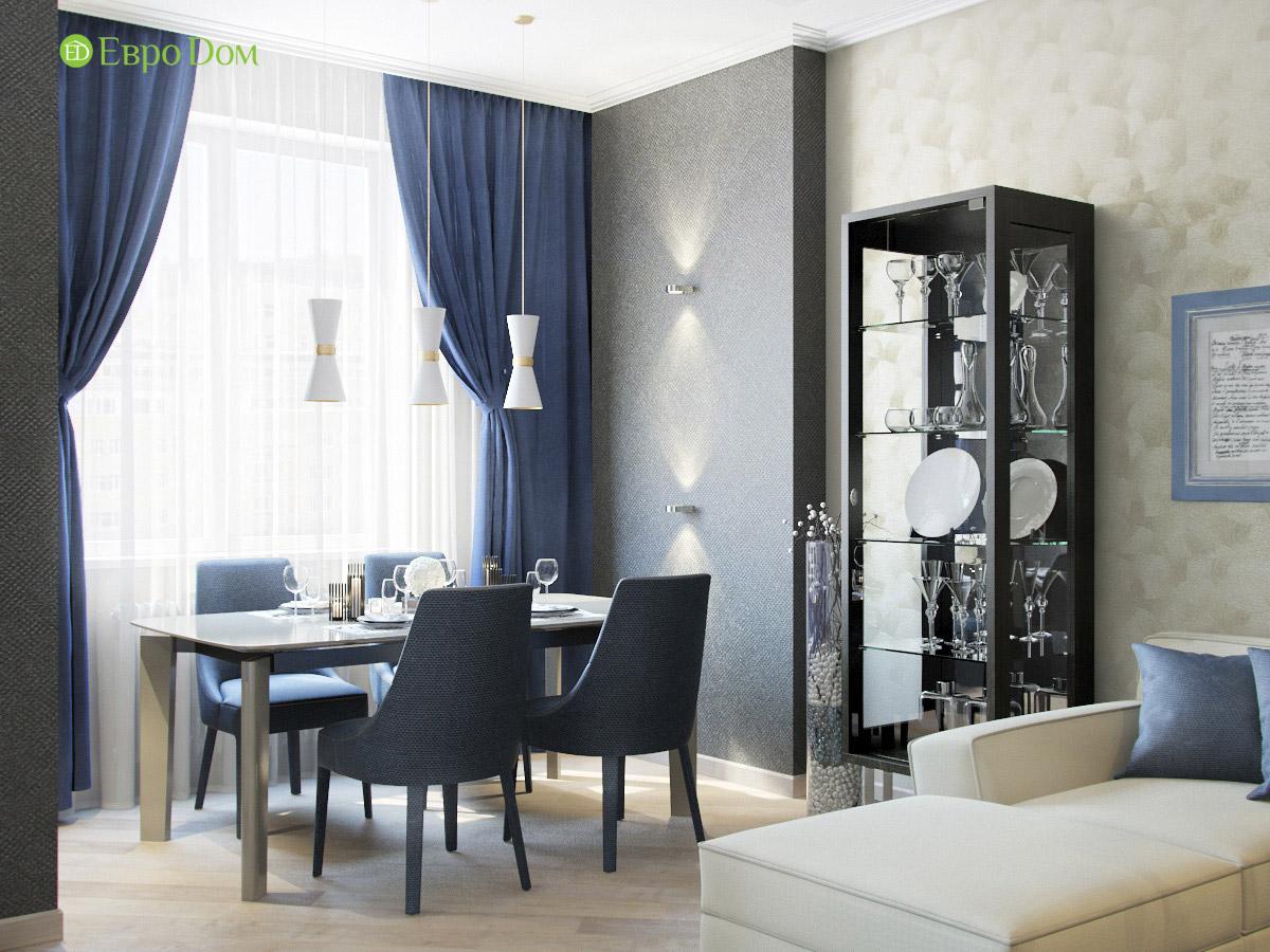 Дизайн трехкомнатной квартиры 95 кв. м в современном стиле. Фото 04