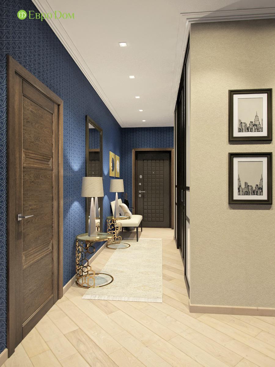 Дизайн трехкомнатной квартиры 95 кв. м в современном стиле. Фото 07
