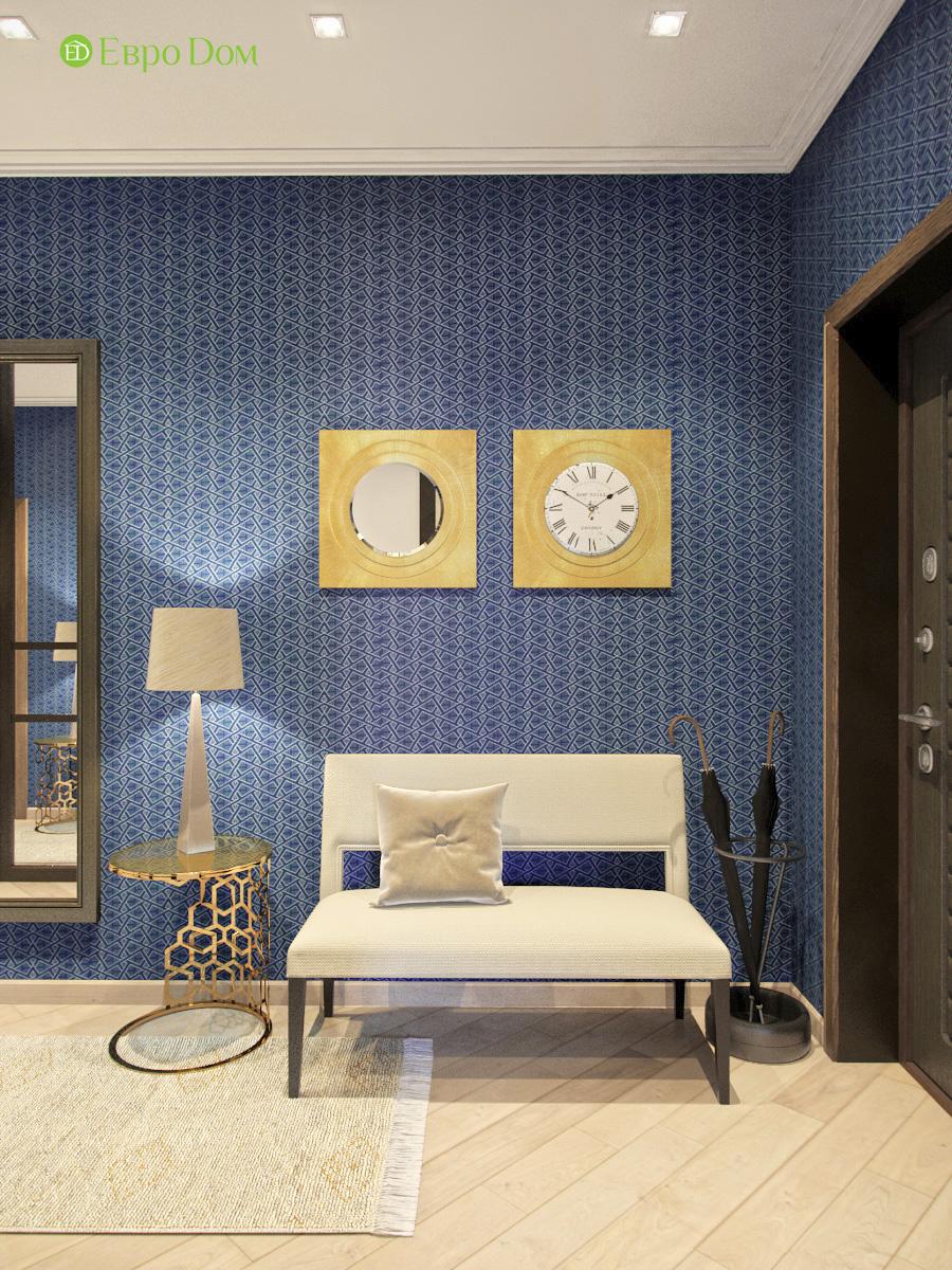Дизайн трехкомнатной квартиры 95 кв. м в современном стиле. Фото 08