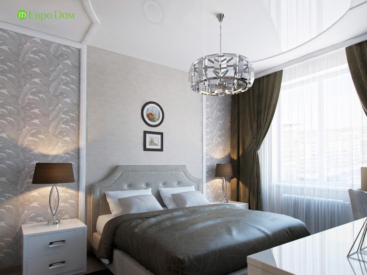 Дизайн трехкомнатной квартиры 95 кв. м в современном стиле. Фото 09