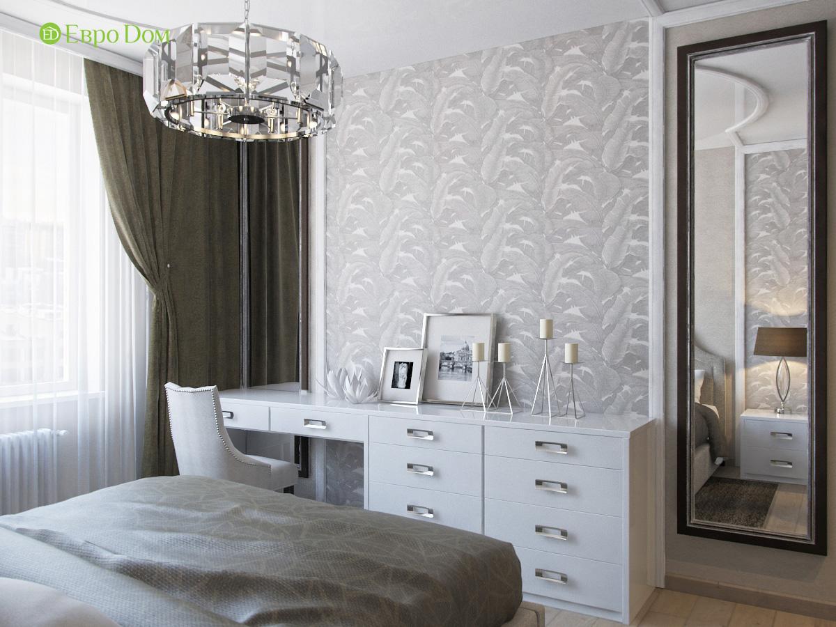 Дизайн трехкомнатной квартиры 95 кв. м в современном стиле. Фото 010