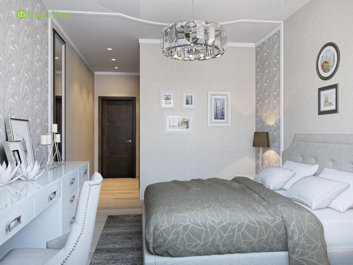 Дизайн трехкомнатной квартиры 95 кв. м в современном стиле. Фото 011