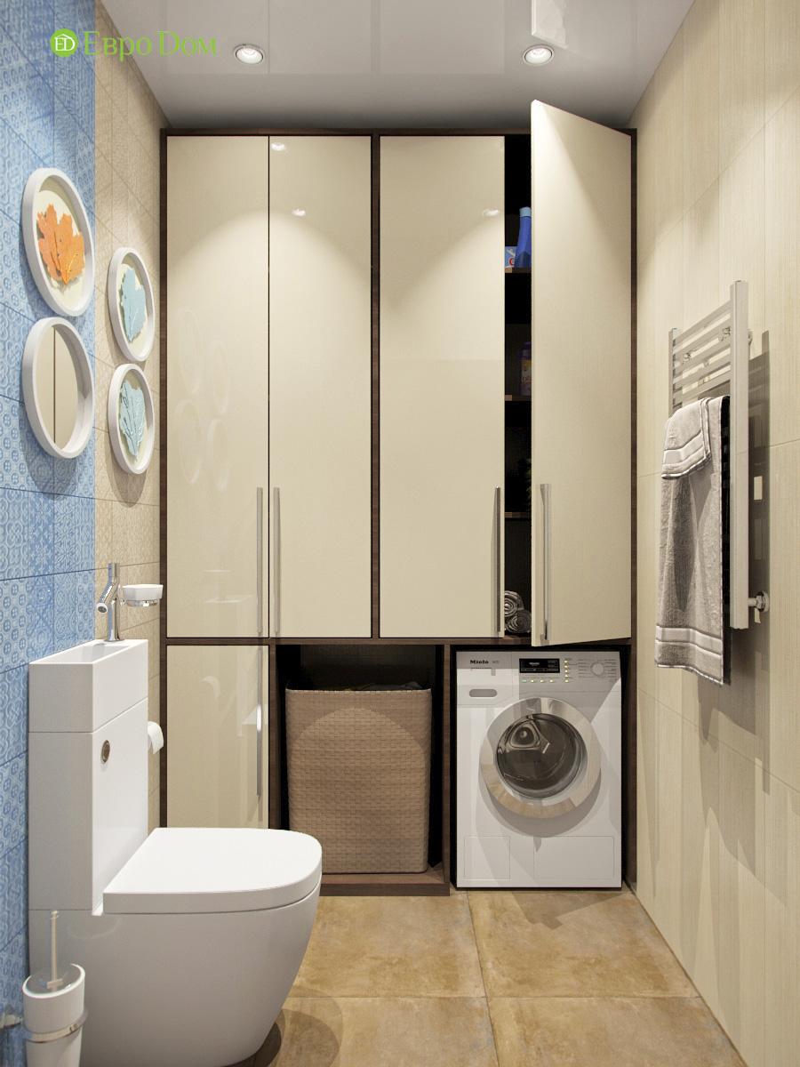 Дизайн трехкомнатной квартиры 95 кв. м в современном стиле. Фото 014