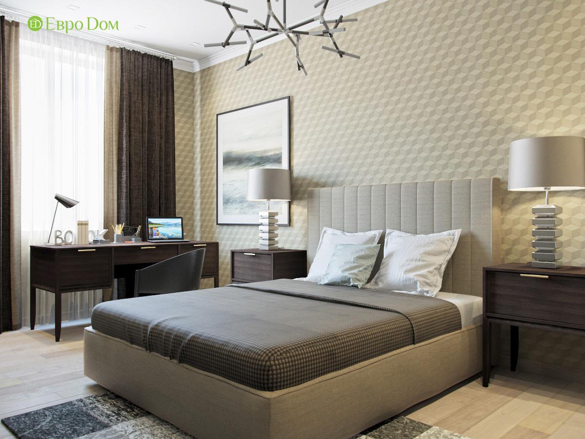 Дизайн трехкомнатной квартиры 95 кв. м в современном стиле. Фото 015